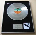 LED ZEPPELIN - LED ZEPPELIN I PLATINUM LP presentation Disc